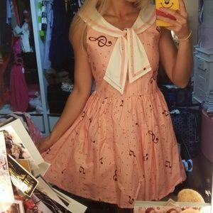 Bonne Chance Collections Music dress